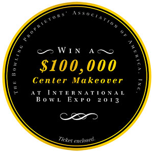 Bowling Extreme Makeover BPAA To Award Once-in-a-lifetime $100,000 Prize To One Lucky Attendee At International Bowl Expo