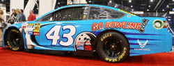 GoBowling.com revs up at 2013 International Bowl Expo, launches ground breaking partnership with Richard Petty motorsports