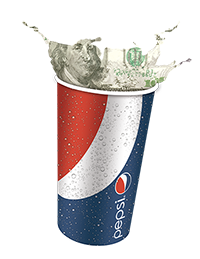 Pepsi Money Cup Splash